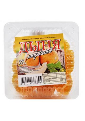 Mermelada sabor MELON (caramelos de gelatina) 12x300gr.ULAN
