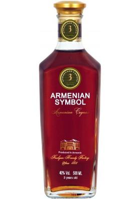 Bandy ARMENIAN SYMBOL 3años 40%alk.0.5L