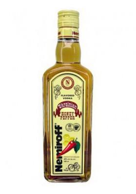 Vodka Nemiroff miel con pimiento 40%alc.0.5L.