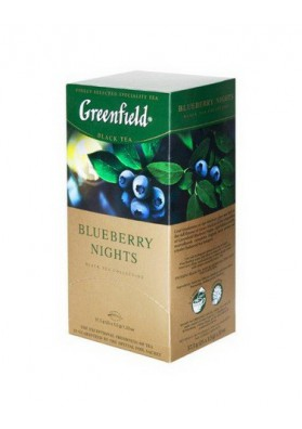 Te Greenfield  BLUEBERRY NIGHTS 10x25x1.5gr