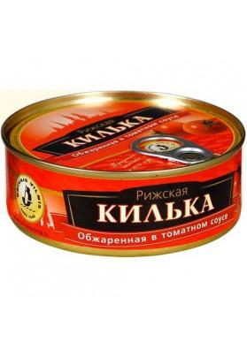Boquerones en salsa de tomate 48x240gr BRIVAIS VILNIS