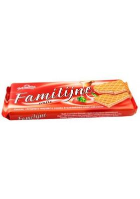 Barquillos sabor fresa 12x180gr.FAMILY