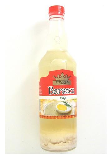 Sopa blanca  BARSZCZ BIALY cristal 15x500ml  FRUBEX