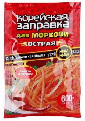 Especia para zanahoria coreana 12x60gr KOREYSKA ZAPRAVKA