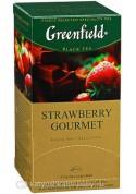 Te Greenfield  STRAWBERRY GOURMET 25x1.5gr