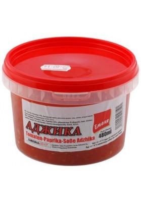 Salsa picante  ADZHIKA 480ml EMELYA