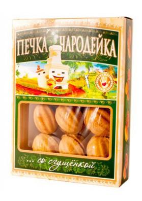 Galletas  ORESHKI con leche condensada 300gr CHARODEYKA