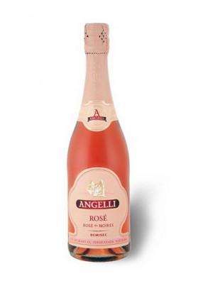 Vino espumoso rosado 12%alk.0.75L ANGELLI