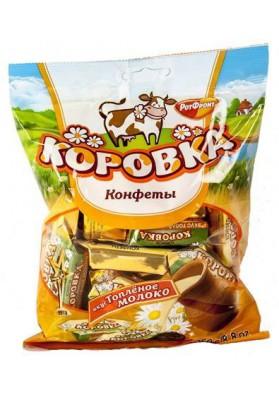 Шоколадные конфеты  КОРОВКА ТОПЛЕНОЕ МОЛОКО 250гр РФ