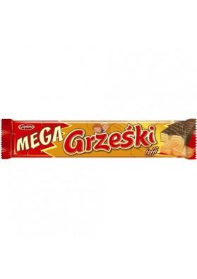 Barquillos en chocolate  MEGA GRZESKI toffi 32x48gr GOPLANA