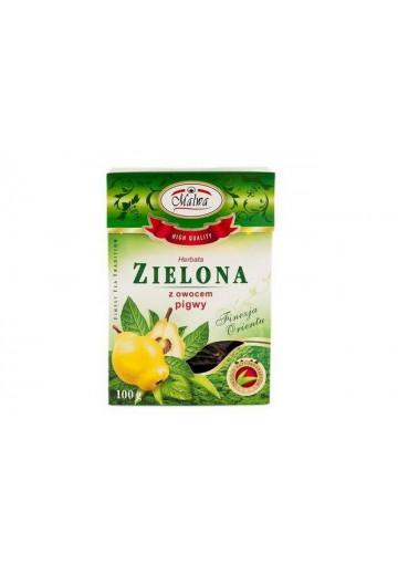 Чай зеленый с айвой 100гр MALWA