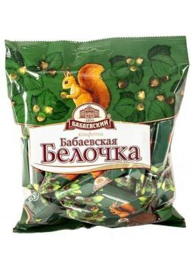 Bombones de chocolate  BELOCHKA 20x200gr BABAEVSKAYA