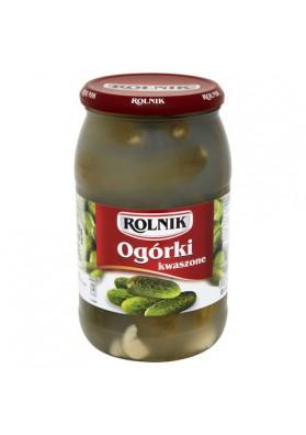 Pepinos fermentado 6x900ml ROLNIK