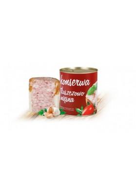 Conserva de carne y grasa 465gr x 24 LUKOW