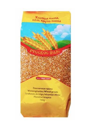 Крупа пшеничная 10x700гр Русское Поле