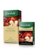 Te Greenfield  VANILLA CRANBERRY 10x25x1.5gr