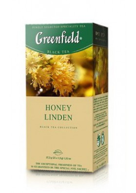 Te Greenfield  HONEY LINDEN 10x25x1.5gr
