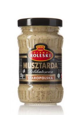 Mostaza  STAROPOLSKA 10x180ml ROLESKI