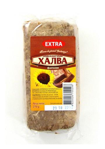 Turon de semillas de girasol con cacao  FANTAZIYA  20x270gr