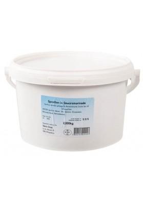 Boquerones en salmuera en cubo 2kg LEMBERG
