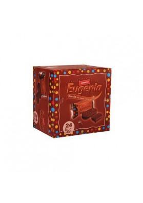 Galletas de cacao EUGENIA con crema de cacao 24x36gr.DOBROGEA