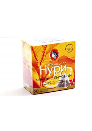 Чай Принцесса Нури в пирамидках с лимоном 18х20х1,8гр