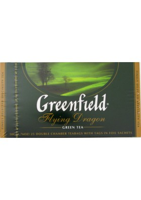 Te verde  FLYING DRAGON  25x2gr  GREENFIELD