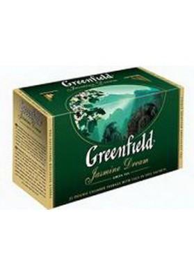 Te GREENFIELD verde con jasmin 25x2gr
