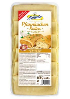 Crepe con patata y setas 1kg.ALEXANDER