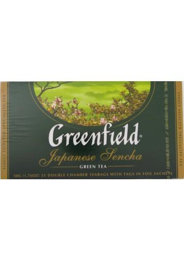 Чай ГРИНФИЛД зеленый японский 25х2гр