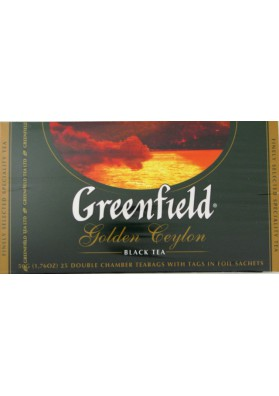 Te GREENFIELD  Golden Ceylon 25x2gr
