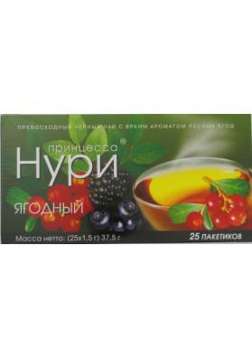 Чай Принцесса Нури ягодный 25х1,5гр
