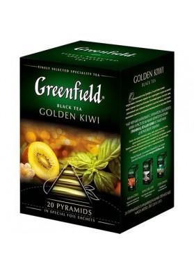 Te Greenfield en piramidasGOLDEN KIWI 10x20x1.8gr