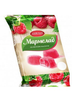 Mermelada con sabor de frambuesa 8x300gr AZOV