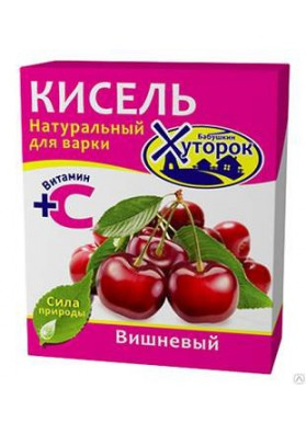 Kisel con sabor de guinda 30x180gr JUTOROK
