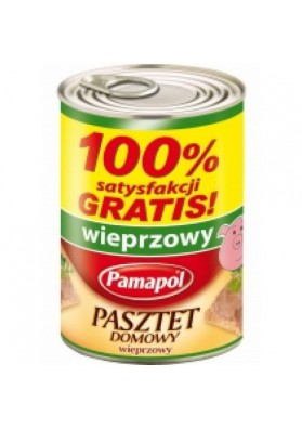 Pate de carne de cerdo 390gr PAMAPOL