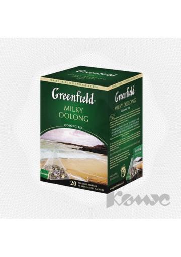 Чай Гринфилд в пирамидкахМИЛКИ ООЛОНГ 20х1,8гр