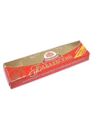 Barita de chocolate con crema de leche 20x50gr  BABAEVSKIY