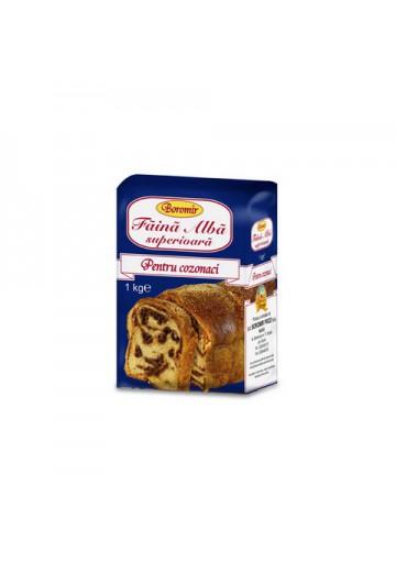 Harina de trigo para bizcocho 1kg BOROMIR