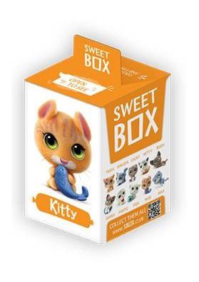 Мармелад с подарком котята 10гр SWEET BOX