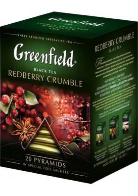 Te Greenfield en piramidasREDBERRY CRUMBLE 8x20x1.8gr