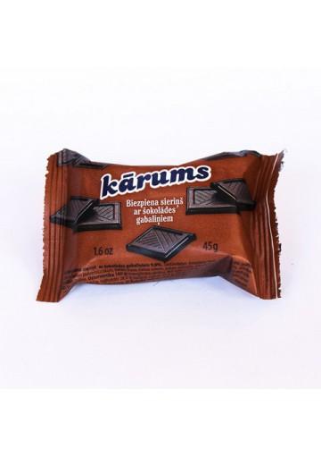Requeson dulce de chocolate 40x45gr KARUMS
