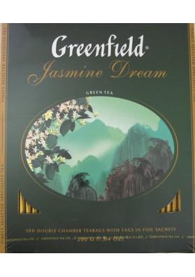 Чай зеленый GREENFIELDJASMIN DREAM 9x100х2гр