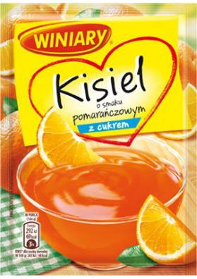 Kisiel sabor naranja con azucar 25x77gr WINIARY