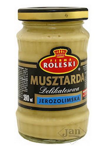 Mostaza JEROZOLIMSKA 10x175gr ROLESKI
