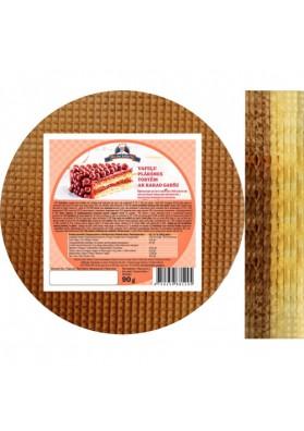 Hojas de barquillo cacao-vanilla 90gr PEKAR