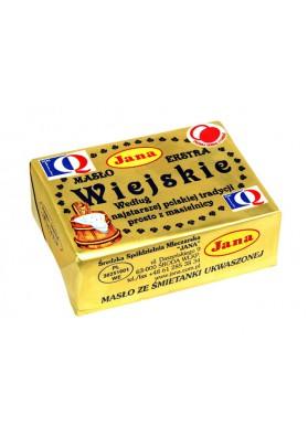 Mantequilla  WIEJSKIE EXTRA 82%grasa 20x250gr JANA