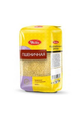 Крупа пшеничная отборная 12х650гр UVELKA