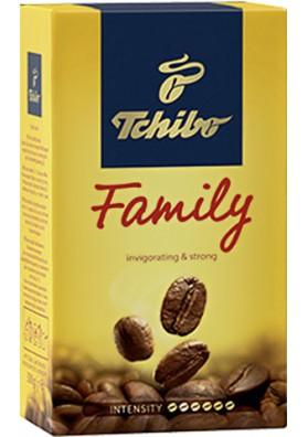 Кофе натуральный молотый FAMILY 250гр TCHIBO