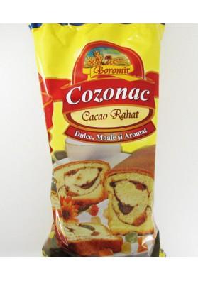 Bizcocho de cacao con rajat  COZONAC  8x400gr ROM